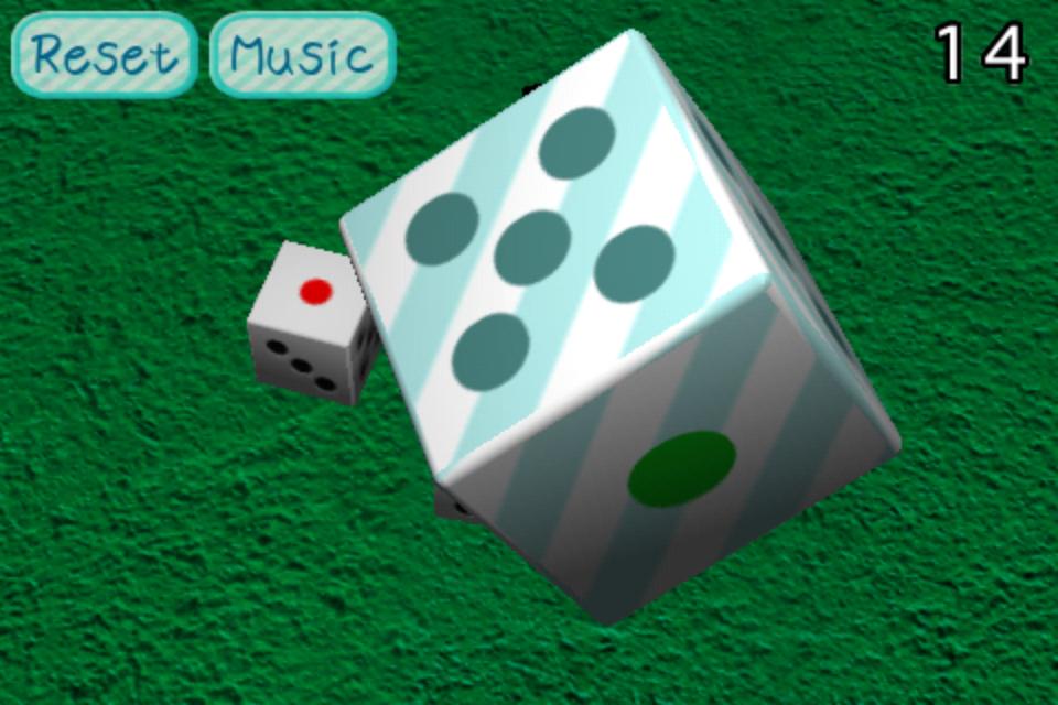 Screenshot Dice -3D- Free